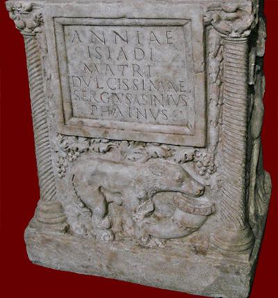 Isias altar