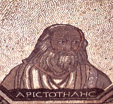 mosaic of Aristotle