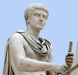 julius ceasar and augustus relationship
