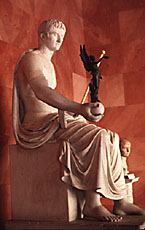 Augustus as god