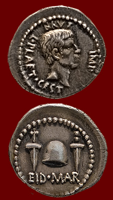 coin of Brutus, Ides of March