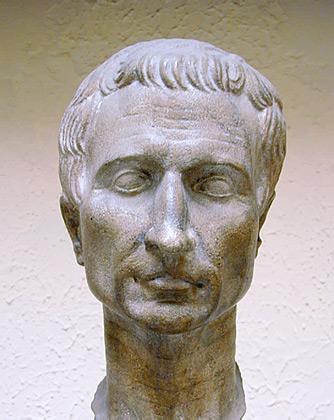 julius caesar death mask