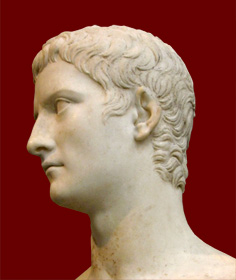Met bust of Caligula, side