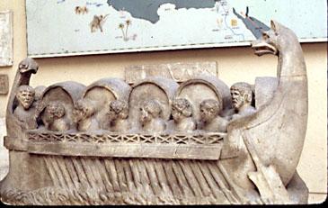 Ancient Roman Cargo Ship.