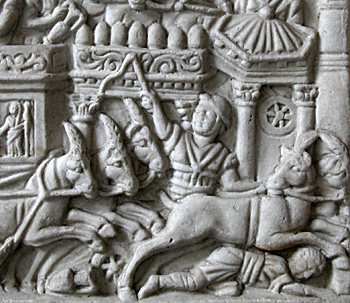 relief of chariot race