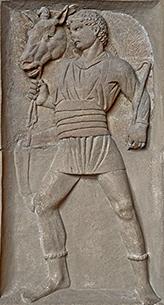 charioteer relief
