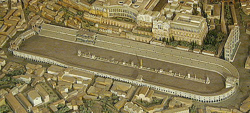 model of Circus Maximus