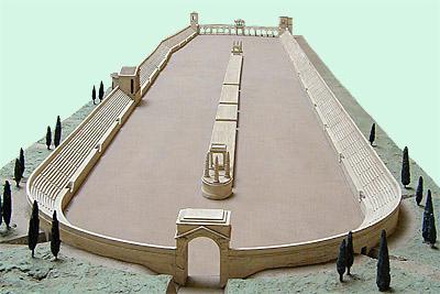 Model of a Roman Circus.
