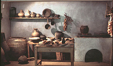 model of kitchen