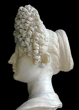 Flavian woman, bust
