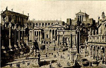 Pics For > Ancient Roman Forum Reconstruction