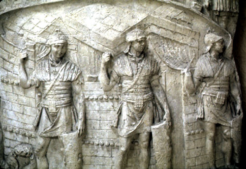 relief of legionaries