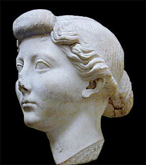 Livia head in British Museum