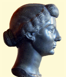 Livia head from Louvre