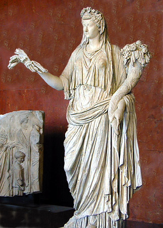 Empress Livia as Ceres