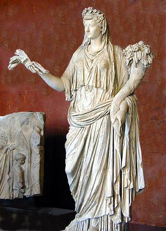 Empress Livia as Ceres