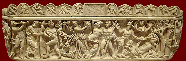 sarcophagus relief