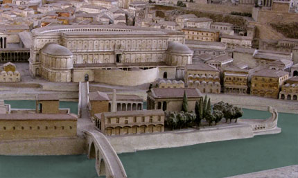 model of Theater of Marcellus