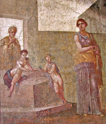 Medea contemplates killing her sons