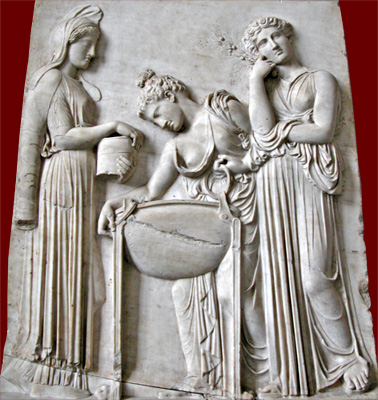 Medea, ram, daughters of Pelias