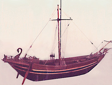 Ancient Roman Merchant Ship.