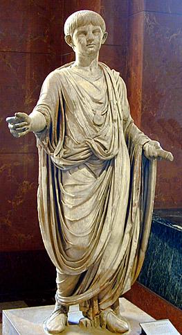 A Roman (patrician) child.