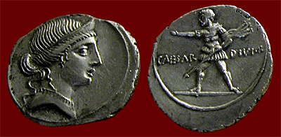 Octavian coin of Venus