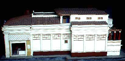 House of the tragic poet layout
