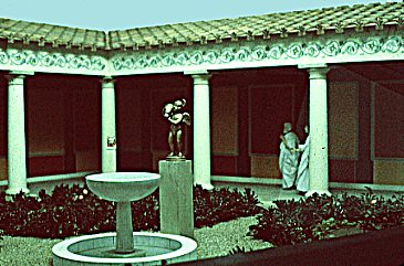 model of peristyle