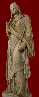 statue of Plancia Magna