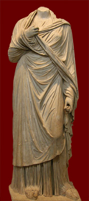 statue of Regilla from Olympia