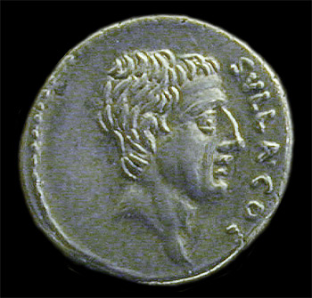 coin with portrait of Sulla