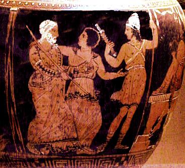 Ancient Greece Theater Masks Actors