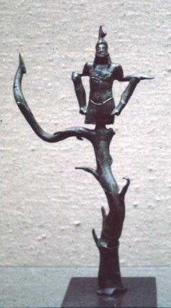 trophy statuette