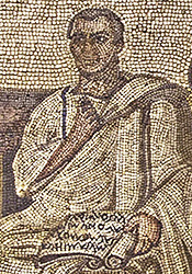 Hadrumatum mosaic of Vergil
