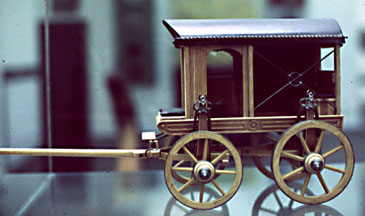 Roman wagon: model