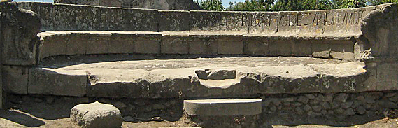tomb bench