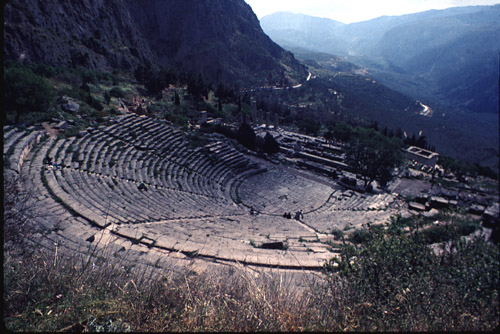 Theater of Apollo at Delphi