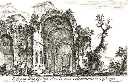 Piranesi: Egeria's Grotto