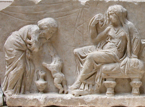 Hera Throwing Hephaestus Off Olympus