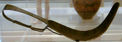 bronze strigil