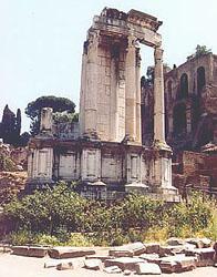Vestal Temple