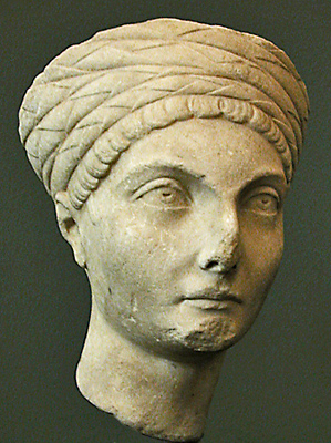 head of noblewoman