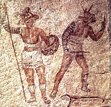 Mosaik der Gladiatoren